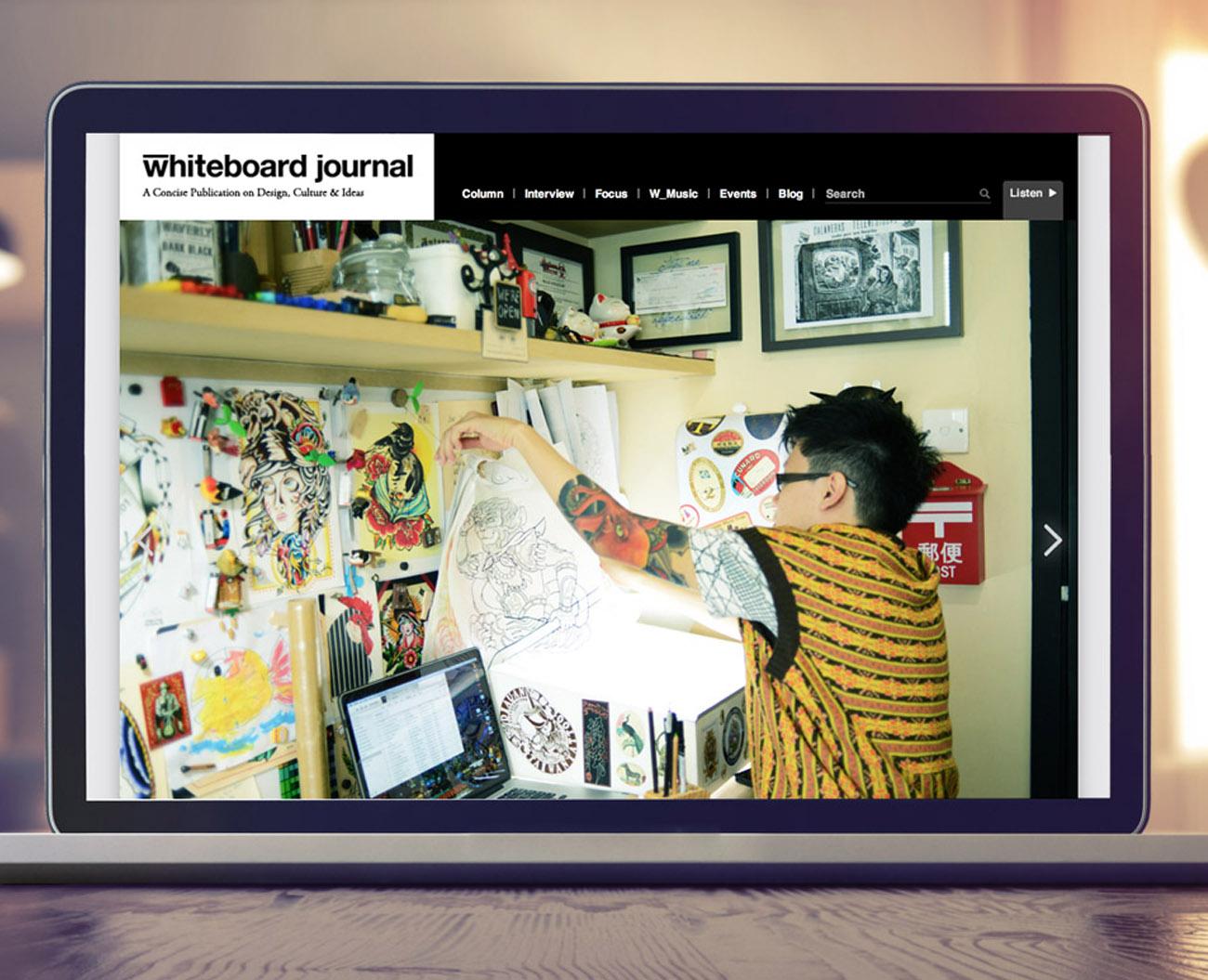 press content whiteboard